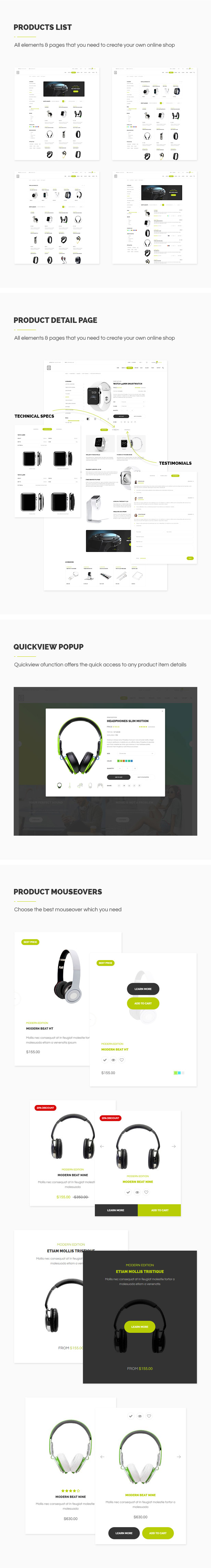 Exzo - Modern & Unique Electronics eCommerce HTML Template - 2